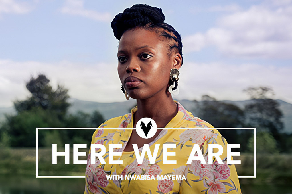 Here we are! With Nwabisa Mayema.